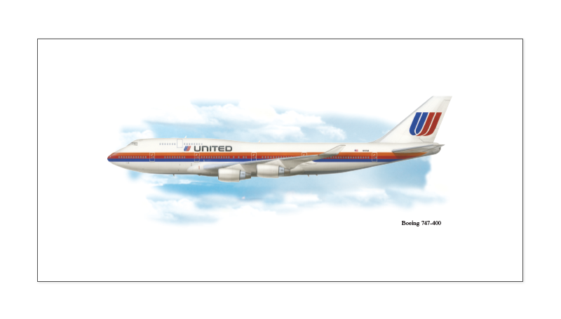 1002-M-United-Airlines-Boing-747-400-Vintage