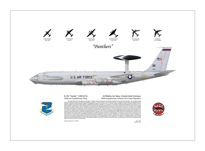 1170-E-3G-Sentry-AWACS-Panthers-Al-Dhaphra-AB-United-Arab-Emirates